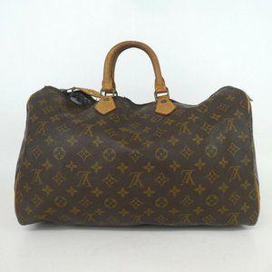 Louis Vuitton Monogram Speedy Handbag***